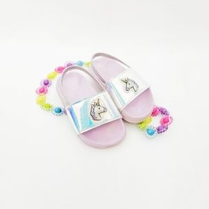 Children's Place Toddler Metallic Unicorn Slides